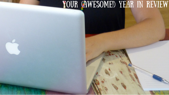 Take a time out to review your year.