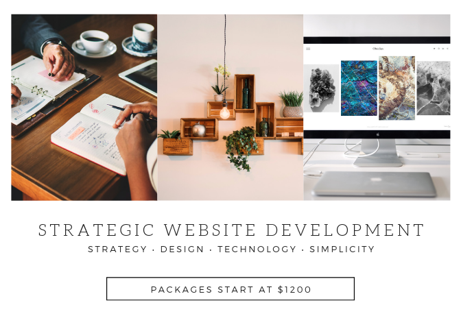 Strategic website solutions that are simple, affordable, beautiful and support your business to grow.